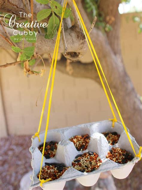 easy diy bird feeders  recycled materials