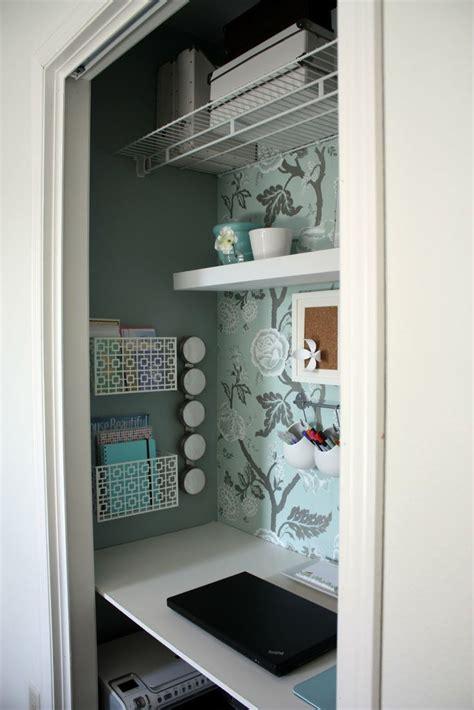 desk inside a closet small walk in closet ideas small walk in closet design