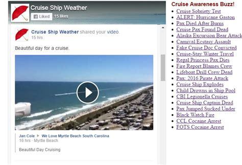 Cruise Ship Weather Warnings | Fitbudha.com