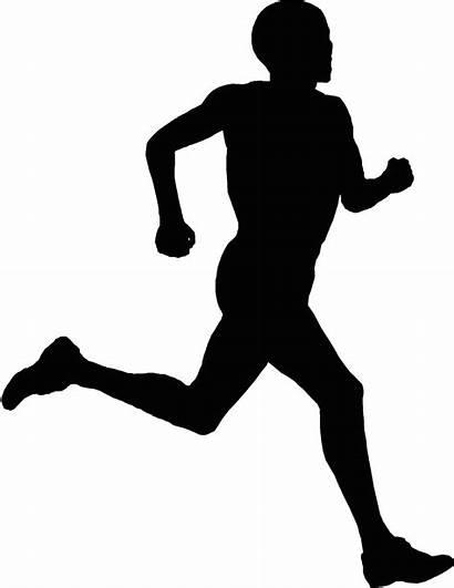 Running Silhouette Clip Transparent Run 5k Clipart