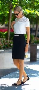 Best 25+ Black pencil skirts ideas on Pinterest | Black ...