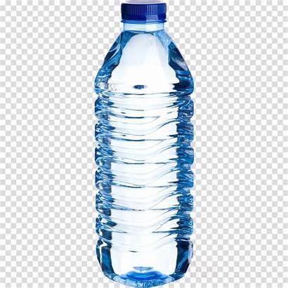 Bottle Plastic Water Clipart Transparent Bottled Cartoon
