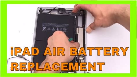 replace  ipad air battery youtube