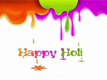 Holi Happy Text Transparent