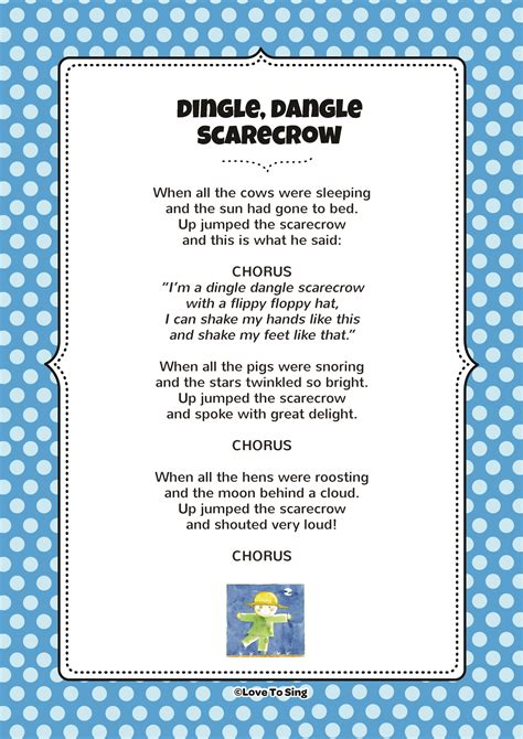 scarecrow action song  video song lyrics