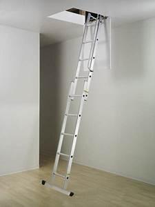 Escalier Escamotable Grenier : echelle escamotable coulissante 2 plans ~ Melissatoandfro.com Idées de Décoration