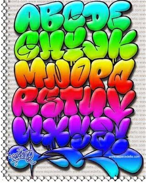 alphabet letters in graffiti bubbles afro graffiti alphabet a z