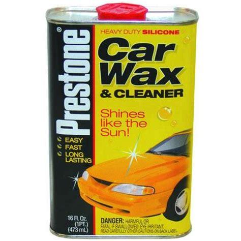 prestone car wax cleaner 171