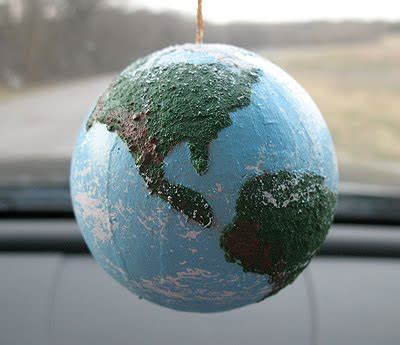 textured globe craft crafts  amanda