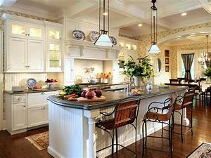Kitchen island legs hgtv for Kitchen cabinet trends 2018 combined with rod iron wall art home decor
