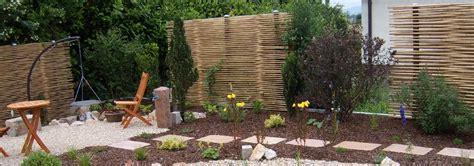 bambus sichtschutz garten bambussichtschutz neuheit