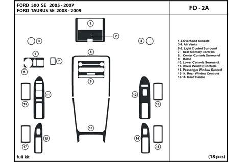 Auto Ford Taurus Dash Kits