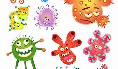 Virus Bacteria Clipart Germs Clip Cliparts Enter