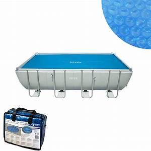 Bache Piscine Tubulaire Intex : bache a bulles pour piscine tubulaire 7m32 x 3m66 intex ~ Dailycaller-alerts.com Idées de Décoration