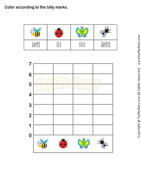 tally chart worksheet  math worksheets grade  worksheets math data management