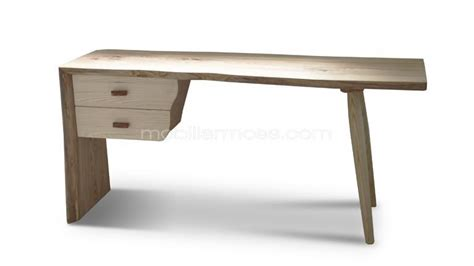 bureau en bois massif bureau en bois massif style scandinave steppe mobilier