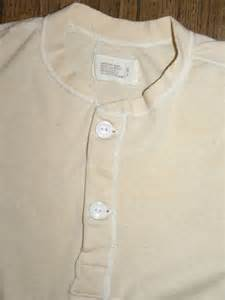 vintage 60s issue undershirt henley by jewvenchy on etsy
