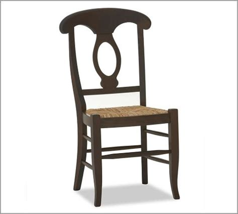 Pottery Barn Napoleon Chair Honey by Napoleon R Chair