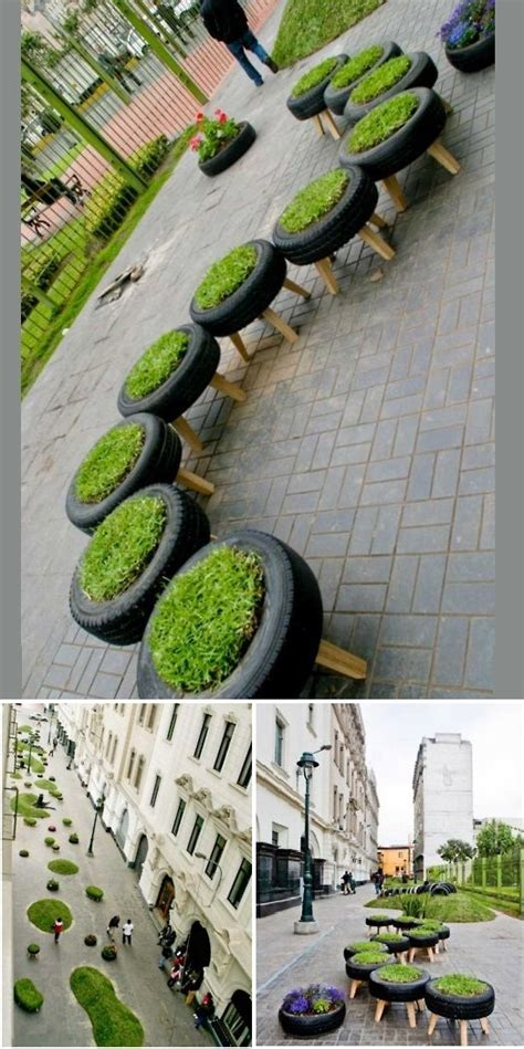 tire garden city 1000 ideas about tire playground on recycled