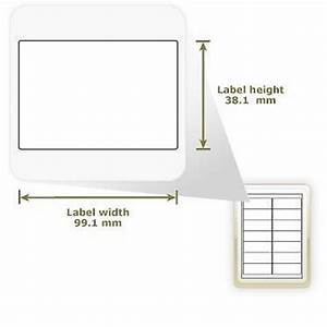 a4 glossy white address labels 14 labels With glossy address labels