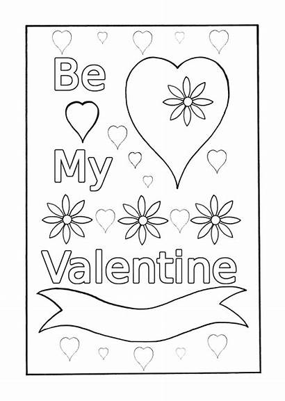 Valentine Coloring Pages Valentines Printable Barney Getcoloringpages