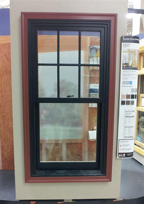 Aluminum Storm Windows Home Depot Man Installing Storm