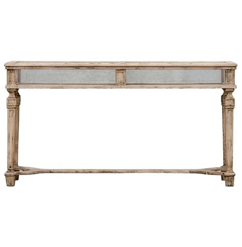 french country console table calliope french country watchmakers stand glass display