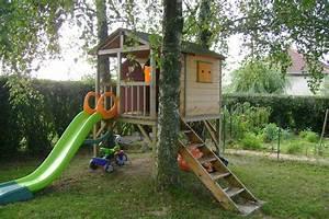 Cabane Toboggan Pas Cher : toboggan avec cabane les cabanes de jardin abri de ~ Dailycaller-alerts.com Idées de Décoration