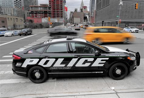 Ford Hybrid Police Car To Serve Cities And Protect Costs
