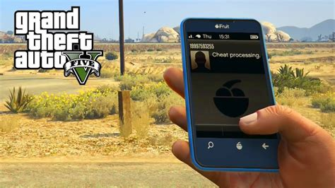 Cell Phone Cheat Codes For Ps4 & Xbox One (gta V