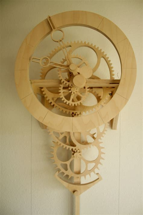 woodworking plans wooden clock design the simplicity clock the workbench