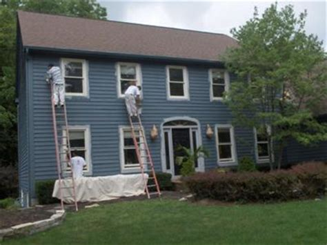 exterior house painting power wash