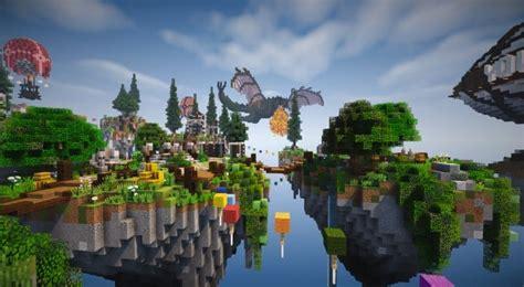 spawn hub glorious downfall minecraft building