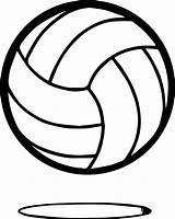 Volleyball Coloring Ball Pages Sheets Printable Nice Wecoloringpage sketch template