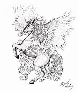 Tattoo Design : Unicorn by Abz-J-Harding on DeviantArt