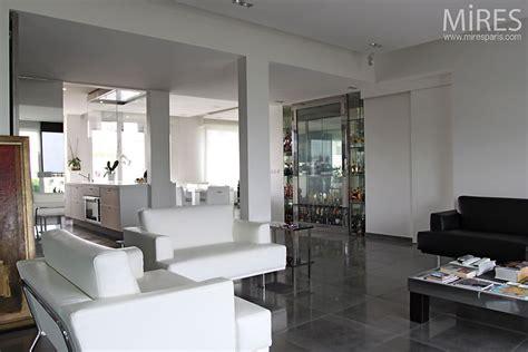 cuisine et cave séjour design c0388 mires