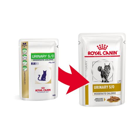 royal canin urinary  moderate calorie pouch katzenfutter