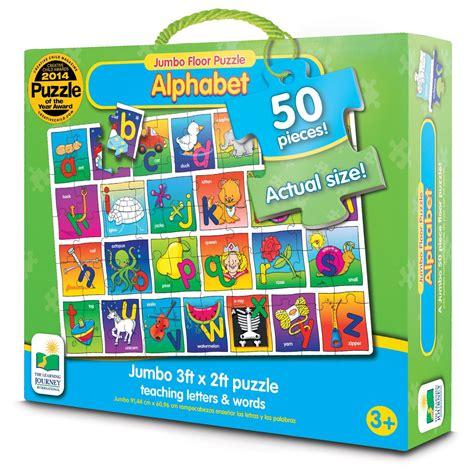 The Learning Journey Jumbo Floor Puzzle  Alphabet Floor
