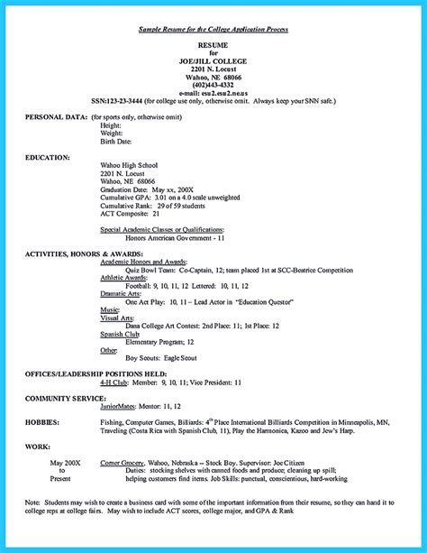 sample resume for college best current college student resume with no experience
