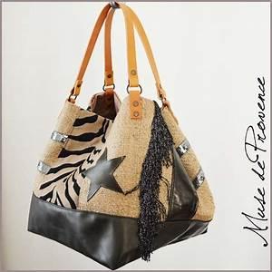 Sacs à Gravats : sac cabas en jute et cuir bronze folie br muse de provence ~ Nature-et-papiers.com Idées de Décoration