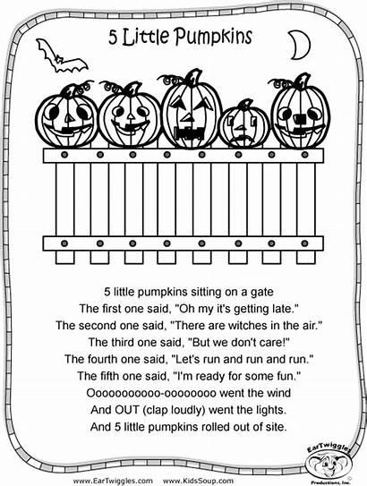 Halloween Coloring Activity Pages Pumpkins Pumpkin Five
