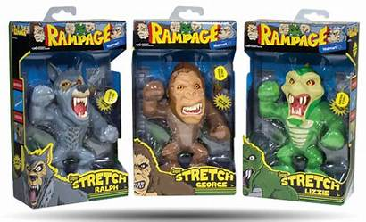 Rampage Figures Stretch Lanard Toys Toy Action