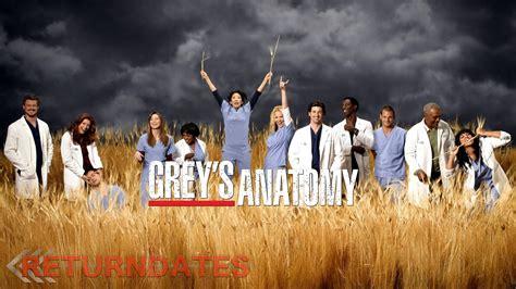 greys anatomy return date  premier release