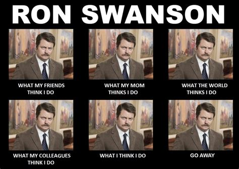 Swanson Meme - ron swanson meme ron swansonisms pinterest