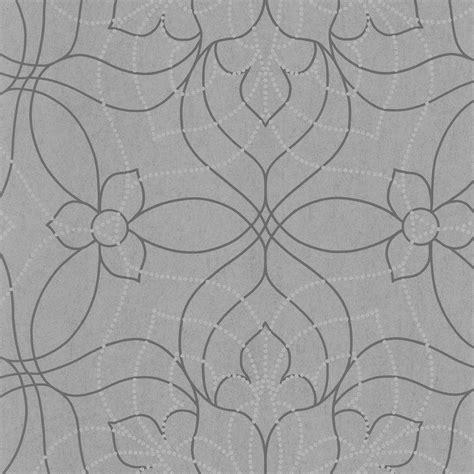 Moderne Tapeten In Grau by Grey Modern Floral Wallpaper 301 66916 The