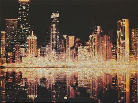 glitter city  arthouse gold art wallpaper direct