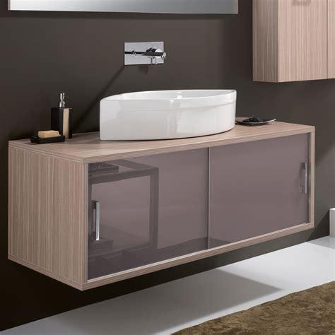 maple contemporary wall mount bathroom vanity