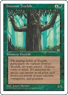 Mtg Treefolk Deck 2015 by Ironroot Treefolk The Magic The Gathering Wiki Magic