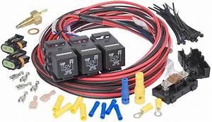 Painless Wiring 30118 Installing Air Conditioning To Your Lsx Powered Hot Rod Need Cooling Fan