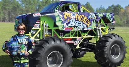 Monster Truck Mini Bigfoot Miniature Kid Toys